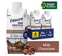 Ensure Nutrition Shake Max Protein Ready To Drink Milk Chocolate - 11 Fl. Oz.