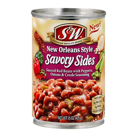 S&W Savory Sides New Orleans Style - 15 Oz