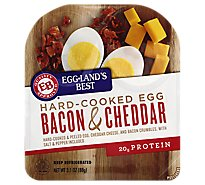 Egglands Best Hard Cooked Egg Bacon and Cheedar - 3.1 Oz