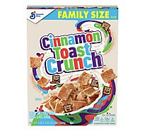 Cinnamon Toast Crunch Cereal Family Size Box - 19.3 Oz