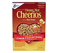 Cheerios Honey Nut Cereal Whole Grain Oat Sweetened Real Honey - 10.8 Oz
