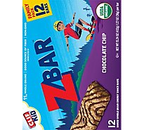 CLIF Kid ZBar Organic Chocolate Chip Box - 12-1.27 Oz
