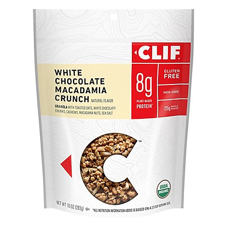 Clif Energy Granola White Chocolate Macadamia Nut - 10 Oz