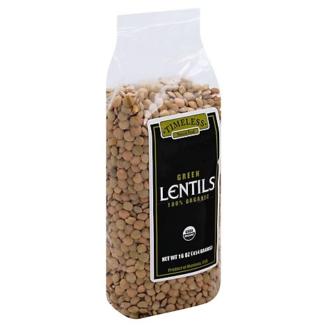 Timeless Green Lentils - 16 Oz
