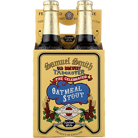 Samuel Smith Oatmeal Stout Btl - 4-12 Fl. Oz.
