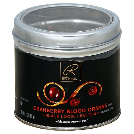Signature Reserve Tea Loose Leaf Cranberry Blood Orange - 3.53 Oz
