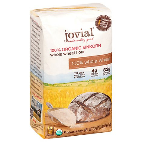 Jovial Flour Whole Wheat Einkorn - 32 Oz