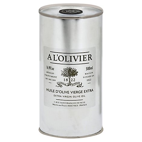 A LOlivier Olive Oil Extra Virgin Can - 16.7 Fl. Oz.