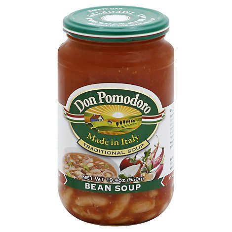 Don Pomodoro Soup Bean - 19.4 Oz