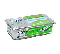 Swiffer Mopping Cloths Wet Heavy Duty Refills Open Window Fresh - 20 Count