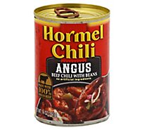 Hormel Angus Chili With Beans - 14 Oz
