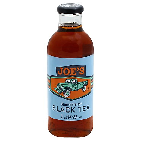 Joe Tea Black Tea Unsweetened - 20 Fl. Oz.