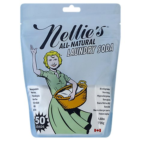 Nellies All Natural Laundry Dtrgnt 50 Load - 1.7 Lb
