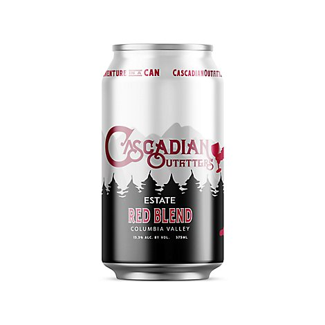 Cascadian Outfitters Red Wine - 375 Ml
