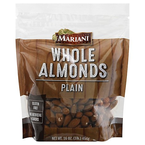 Mariani Almonds Whole - 16 Oz