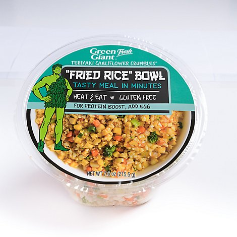Green Giant Teriyaki Cauliflower Crumbles Fried Rice Bowl - 7.6 Oz