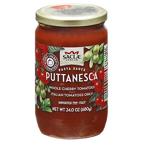 Sacia Tomatos Cherry N Olives - 24 Oz