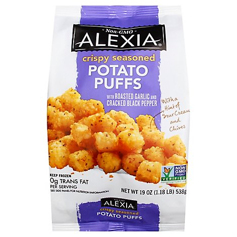 Alexia Crispy Seasoned Potato Puffs - 19 Oz