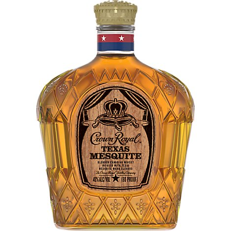 Crown Royal Whiskey Texas Mesquite - 750 Ml