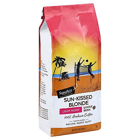 Signature Select Coffee Sun Kissed Blonde Whole Bn - 12 Oz