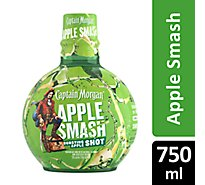 Captain Morgan Apple Smash 60 Proof - 750 Ml