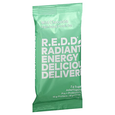 Redd Energy Bar Superfood Mint Chocolate Wrapper - 2.2 Oz