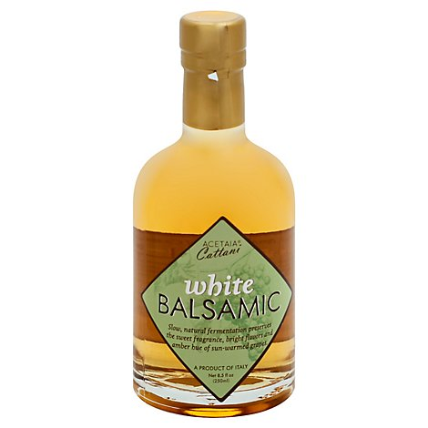Cattani White Balsamic Vinegar - 8.5 Fl. Oz.