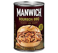 Manwich Sauce Sloppy Joe Bourbon BBQ Can - 16 Oz