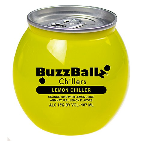 Buzzballz Lemon Chiller Wine - 187 Ml