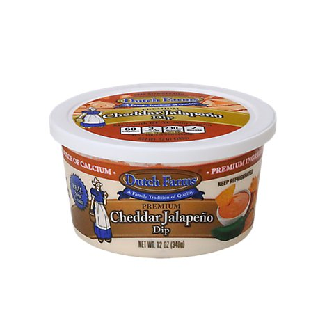 Dutch Farms Cheddar Jalapeno Dip - 12 Oz