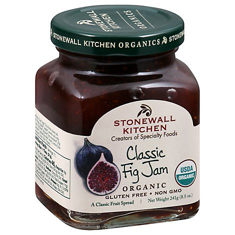Stonewall Kitchen Classic Organic Fig Jam - 8.5 Oz