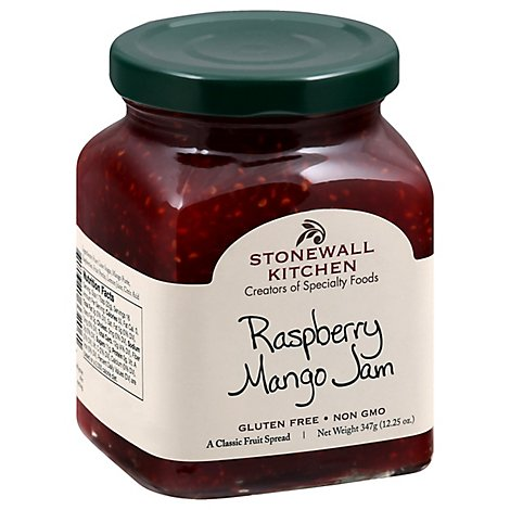 Stonewall Kitchen Raspberry Mango Jam - 12 Oz