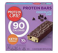 Protein One Protein Bars Chocolate Chip Box - 5-0.96 Oz