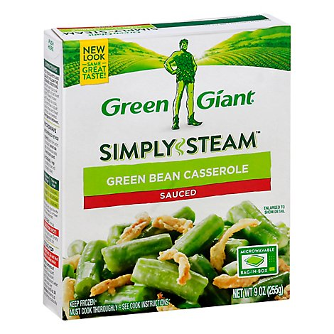Green Giant Steamers Green Beans Casserole Sauced - 9 Oz