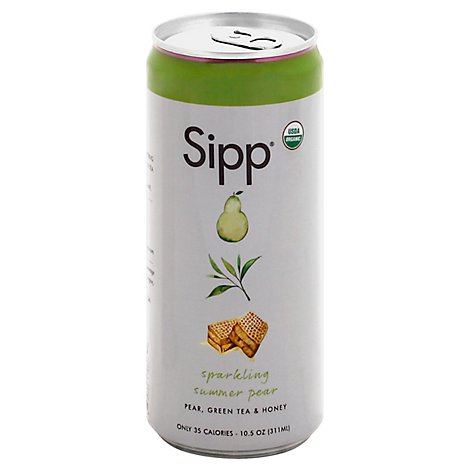 Sipp Soda Pear Summer - 10.5 Fl. Oz.