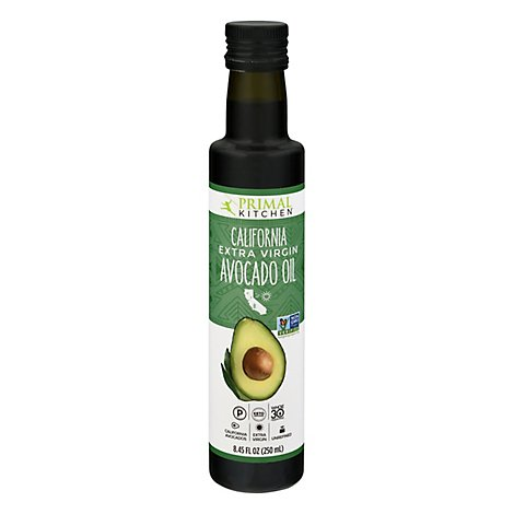 Primal Kitchen Avocado Oil Extra Virgin California Bottle - 8.5 Fl. Oz.