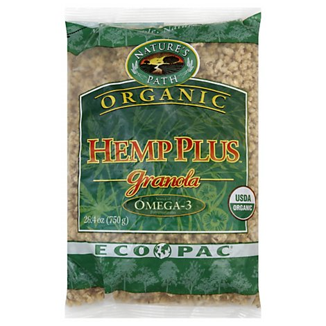 Natures Path Organic Granola Hemp Plus - 26.4 Oz