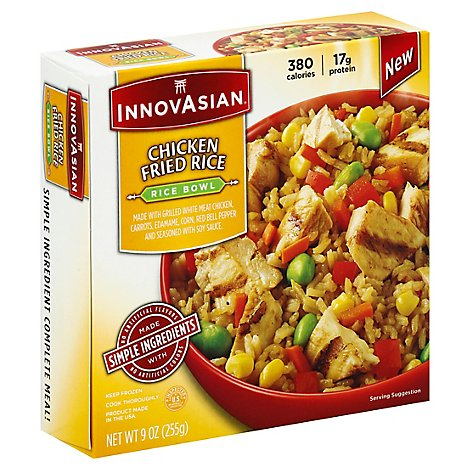 Innovasian Cuisine Rice Bowl Chicken Fried Rice Box - 9 Oz