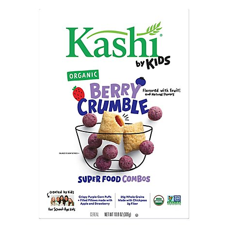 Kashi by Kids Cereal Berry Crumble - 10.8 Oz