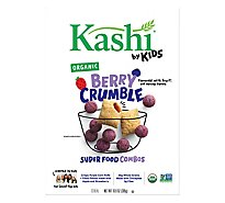 Kashi by Kids Cereal Organic Super Foods Combos Berry Crumble Box - 10.8 Oz