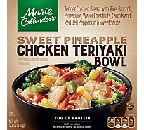 Marie Callenders Meal Chicken Teriyaki Bowl Sweet Pineapple Box - 12.3 Oz