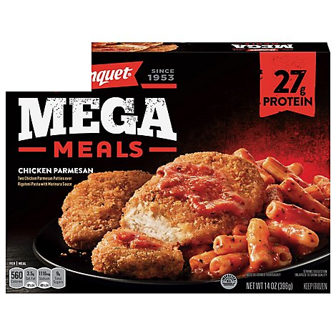 Banquet Meal Mega Meals Chicken Parmesan Box - 14 Oz