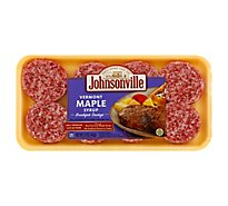 Johnsonville Breakfast Sausage Patties Vermont Maple Syrup 8 Patties - 12 Oz