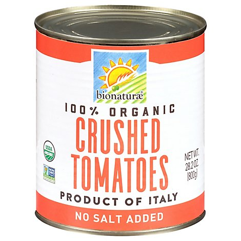 Bionaturae Organic Tomatoes Crushed Can - 28.2 Oz