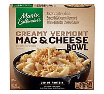 Marie Callenders Entree Mac & Cheese Bowl Creamy Vermont White Cheddar Box - 13 Oz