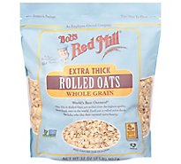Bobs Red Mill Oats Rolled Extr Thck - 32 Oz