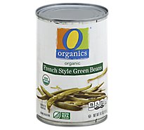 O Organics Organic Beans Green French Style Can - 14.5 Oz