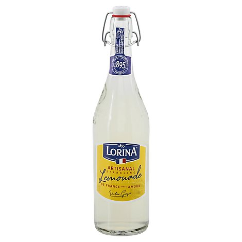 Lorina Sparkling Beverage Prestige Lemonade Bottle - 25.4 Fl. Oz.