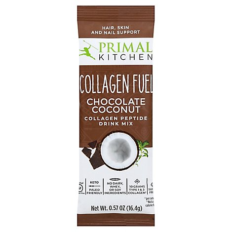 Primal Kitchen Collagen Fuel Choc Pkt - 0.58 Oz