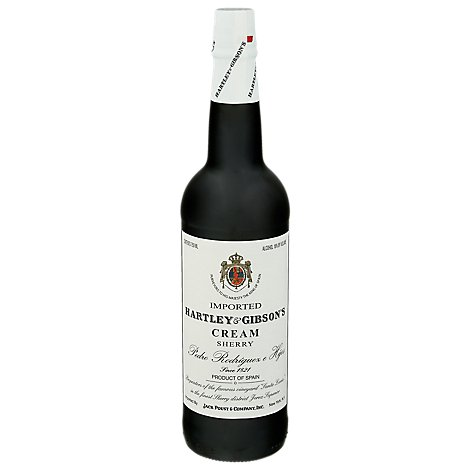 H&G Cream Sherry Wine - 750 Ml